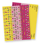 Pebbles Inc - Birthday Girl Twist Ties  (sold individually)